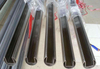 polished stainless steel slotted tube for handrail