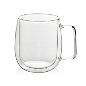 GD0304 Double Wall Heat Insulation Glass Mug