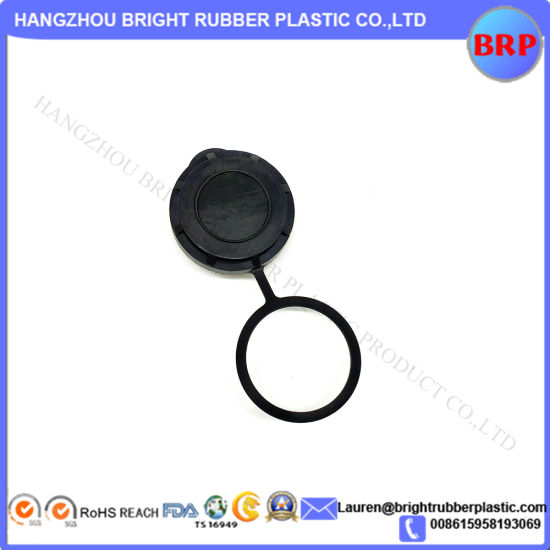 High Quality Injection Plastic Cap with Ring Custom OEM Manufacturer