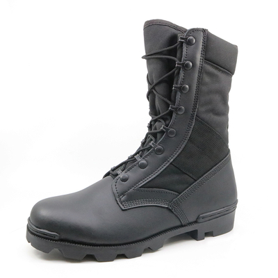 B950 waterproof genuine leather non slip army combat boots military