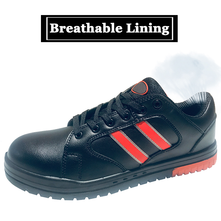 China slip resistant metal free casual sport safety shoes for sale