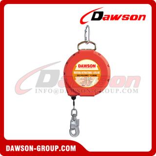 Galvanized Wire Retractable Lifeline, Stainless Steel Self-Retracting Lifeline