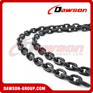 DT, DAT Carburizing Chain, High Hardness Black G80 Alloy Chain of Carburization