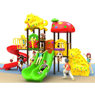 Backyard Cartoon Animal Children Slide Playground (BBE-N22)