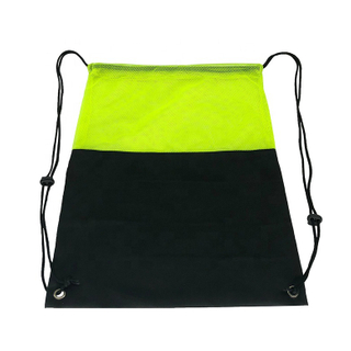 Outdoor Sports Gym Shoe Bag Custom Rope Backpack Drawstring Bags