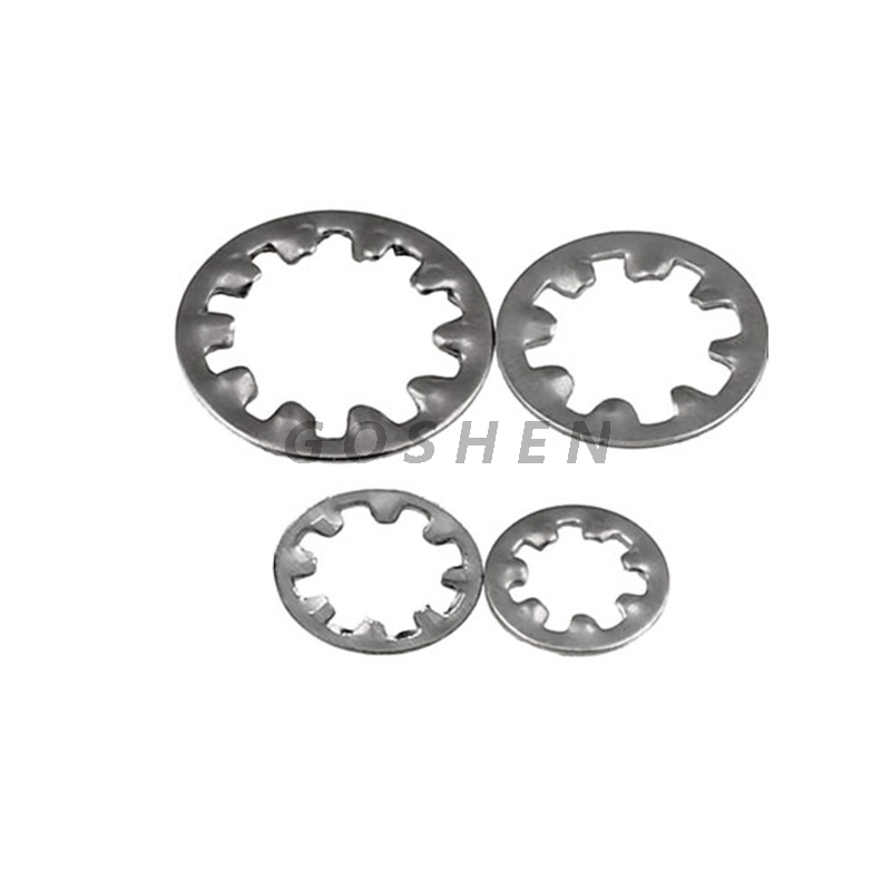Din 6797 stainless steel A2 A4 Internal Tooth Lock Washers