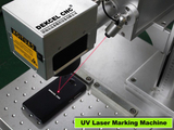 The different power of UV laser marking machine