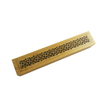 Chinese Wooden Bamboo Incense Packaging Box for Stick Burner