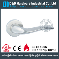 Stainless steel bent popular design solid door handle for External Door- DDSH131