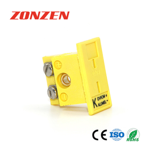Mini panel mounted connector for thermocouple ZZ-PM2