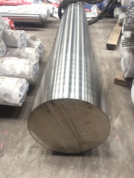 How is stainless steel round bar made