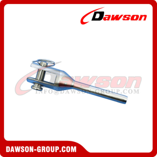 Stainless Steel Swage Fork Machined Terminal