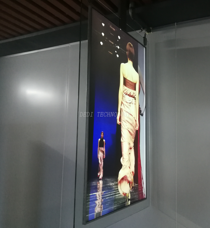 "55"" ULTRA SLIM DOUBLE SIDED DIGITAL SIGNAGE"