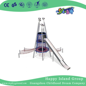 Outdoor New Design Trampoline Combination Playground With Slide (HHK-7901)