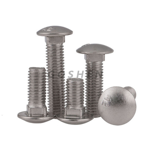 SS304 Metric Button Head Carriage Bolt M6