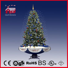 (40110U170-BS) New Atrractive Indoor Artificial Snowing Christmas Trees with LED Lights
