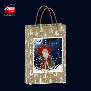 New Design Handbags China Wholesales Family Christmas Gifts Falling Snow Snowman Xmas Decorations