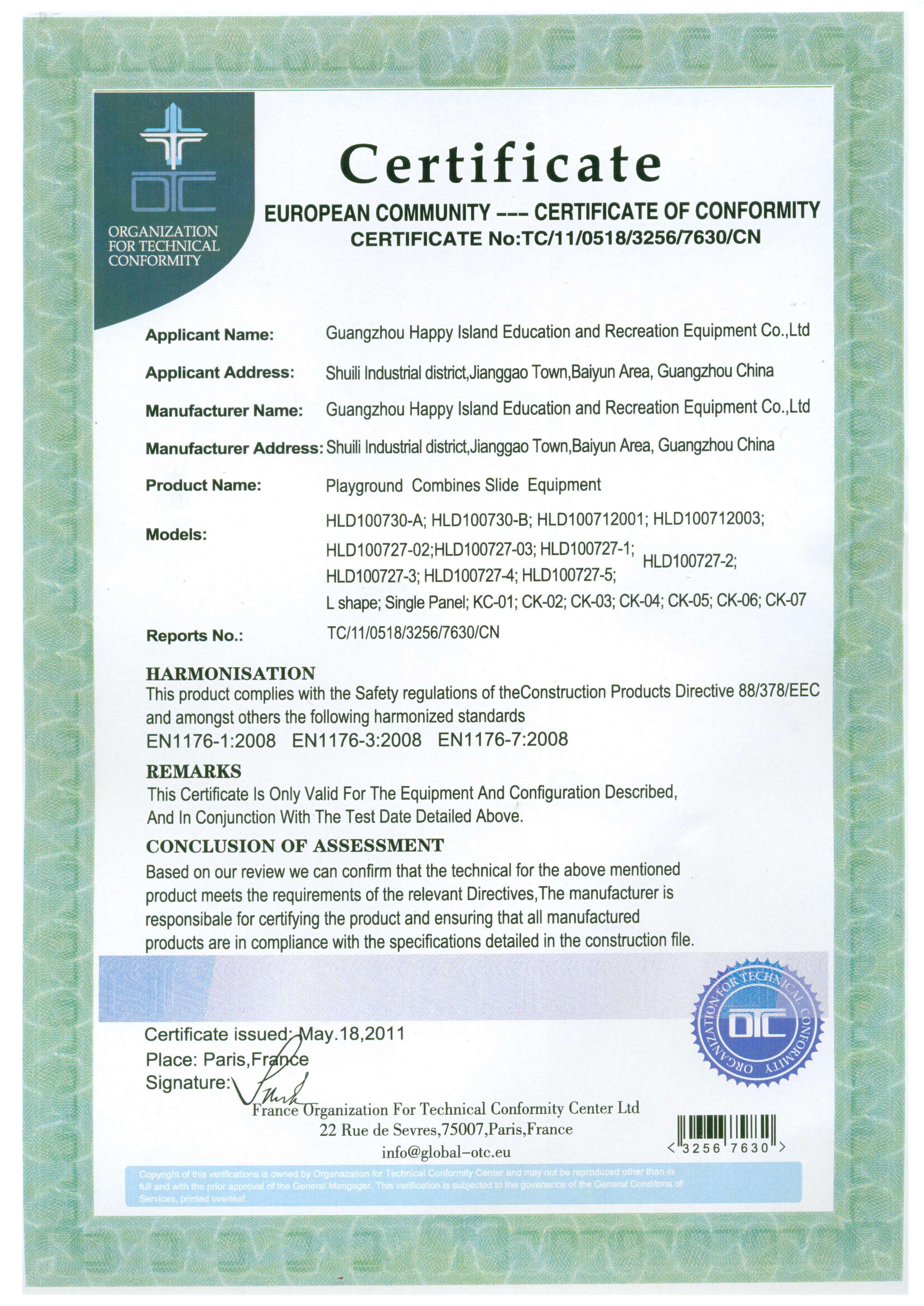 Certificate - cnplayground