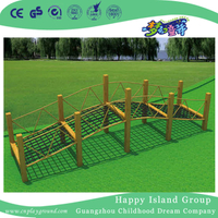 Outdoor Fitness Equipment Net Rope Bridge Children Climbing Frames (HF-17706)