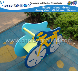 M11-11216 PVC board single bearing cartoon bike rocking ride