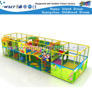 Newest Kids Favorite Soft Naughty Castle Indoor Cartoon Playground (MH-05629)