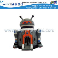 Outdoor Robot Design Inflatable Bouncy Castle for kindergarten (HD-9808)