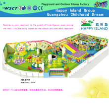 Popular Children Indoor Soft Playground Indoor Naughty Castle(HD-8701)