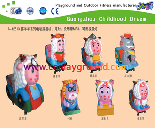 Pleasant Goat And Big Big Wolf Series Cartoon Animal Electric Coin Operated Rides (A-12813)