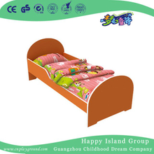 Red Painting Non Toxic Wooden School Bed for Children (HG-6501)