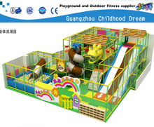 Small Cartoon Indoor Playground with Lovely Animal Castle (HC-22325)