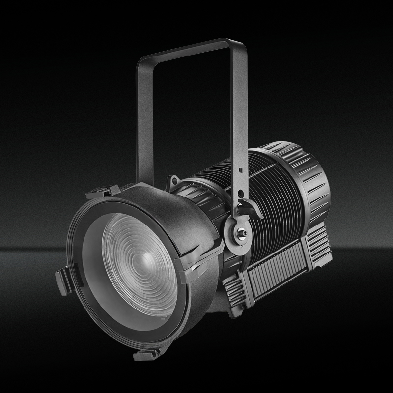 TH-355 300W Impermeable LED Teatro Fresnel Spotlight con zoom automático