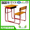 Combo Wooden Single School Table And Chair(SF-90S)