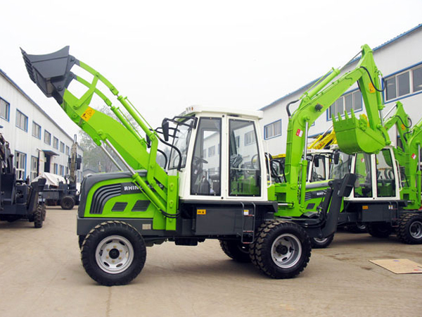 FOTMA FM750 Mini Backhoe Loader