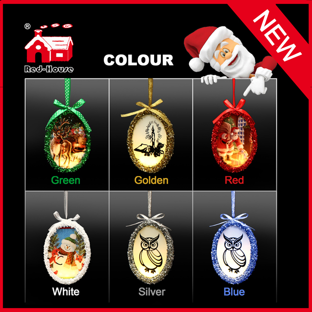 Alibaba Wholesale Lighting Hanging Merry Xmas Tree House Decoration