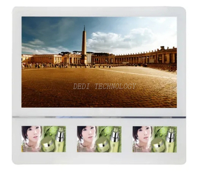 Elevator LCD Screen Display Advertising Player with Vesa Holes and 9V-24V
