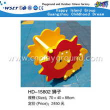 Discount PVC Board Lion Cartoon Bearing Rocking Ride On Stock(HD-15802)