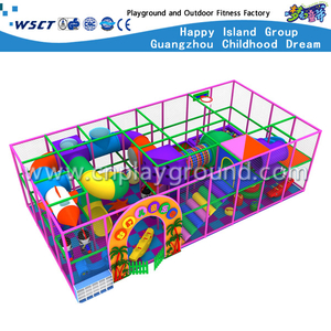 Colorful Small Cartoon Indoor Playground Kids Play Equipment (MH-05608)