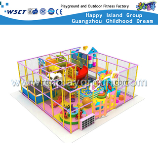 H13-0927 Indoor Playground Kids Soft Playhouse Equipment