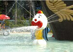 Aqua Game Water Clown Sprinkler Equipment for Water Games Park Playground (HD-7004)