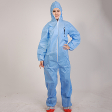 Disposable SMS coverall with hood