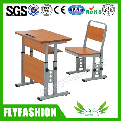 Classroom Furniture Adjustable High Quality School Desk And Chair(SF-88S)
