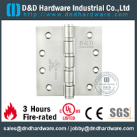 "SUS304 UL Butt Hinge 4"" for Commercial Door-4BB-DDSS003-FR"