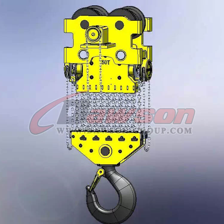 50T Heavy Duty Lifting Chain Block, Chain Hoist