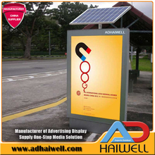 Solar Street System LED Werbung Bus Shelter Light Box