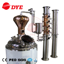 High-effective factory price Wisky Vodka alcohol distiller distillation equipment