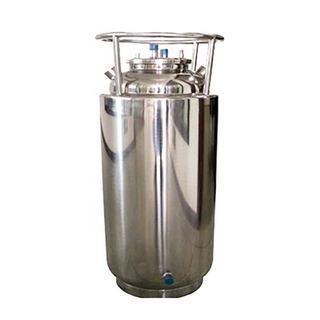 Sanitary Stainless Steel Double Jacketed Solvent Recovery LP Tank