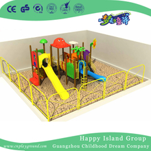 2018 new design kindergarten outdoor children playground equipment