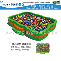 China Guangzhou Factory cheap square ball pool with step on stock(HD-15505)