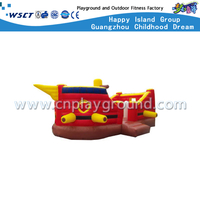 Children Outdoor Pirate Ship Inflatable Bouncer Jumping Castle (HD-9901)