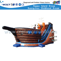 Pirate Ship Model Outdoor Children Inflatable Slide Playgrounds (HD-9506)